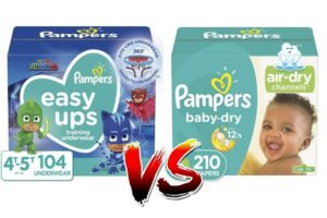 Pull Ups vs Diapers: Whats The Difference?