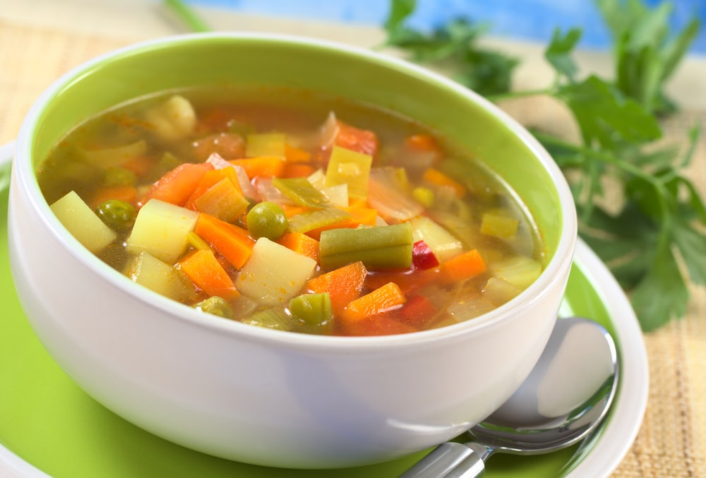 Fresh Vegetable Soup-min