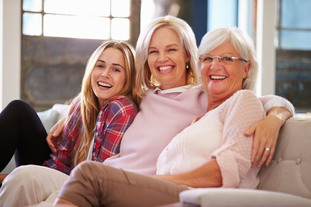 Grandmother With Mother And Adult Daughter1