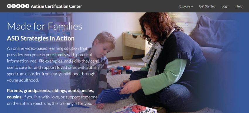 autism certification center