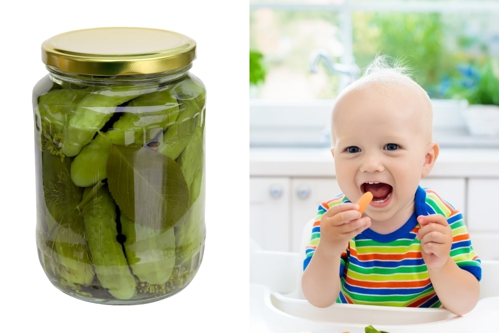 Can Babies Have Pickles?