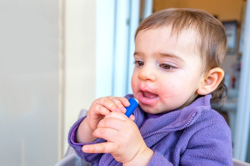 Can You Put Chapstick or Lip Balm On A Baby: Is it Safe?