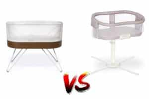 SNOO Smart Sleeper vs HALO Bassinest