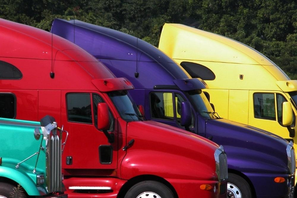 colored trucks