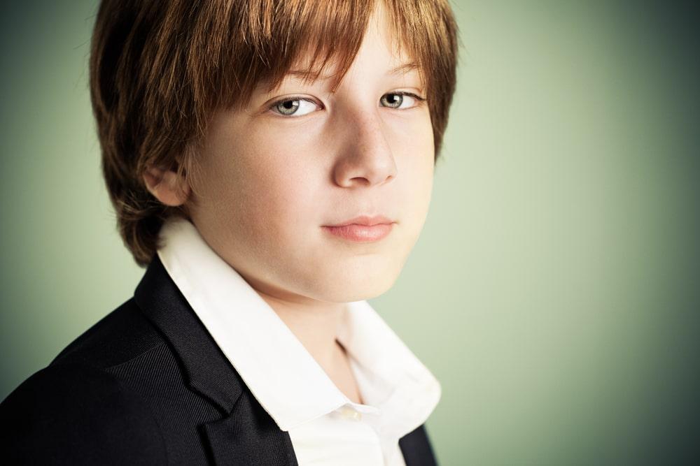 Cute Elegant Boy