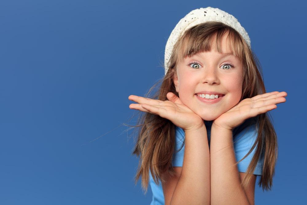 Joyful child