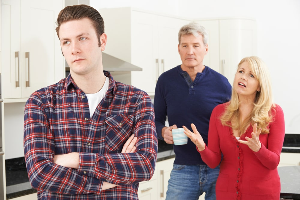 Mature Parents Frustrated With Adult Son