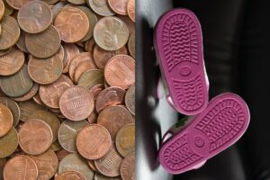 Why Are Parents Gluing Pennies To Kids Shoes?