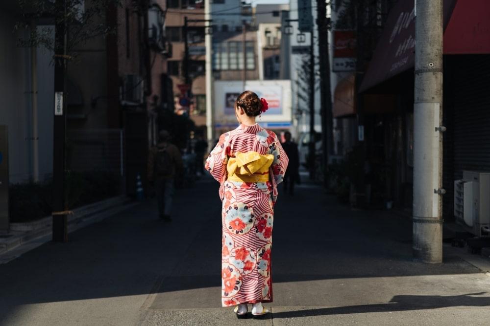 girl woman in a kimono10