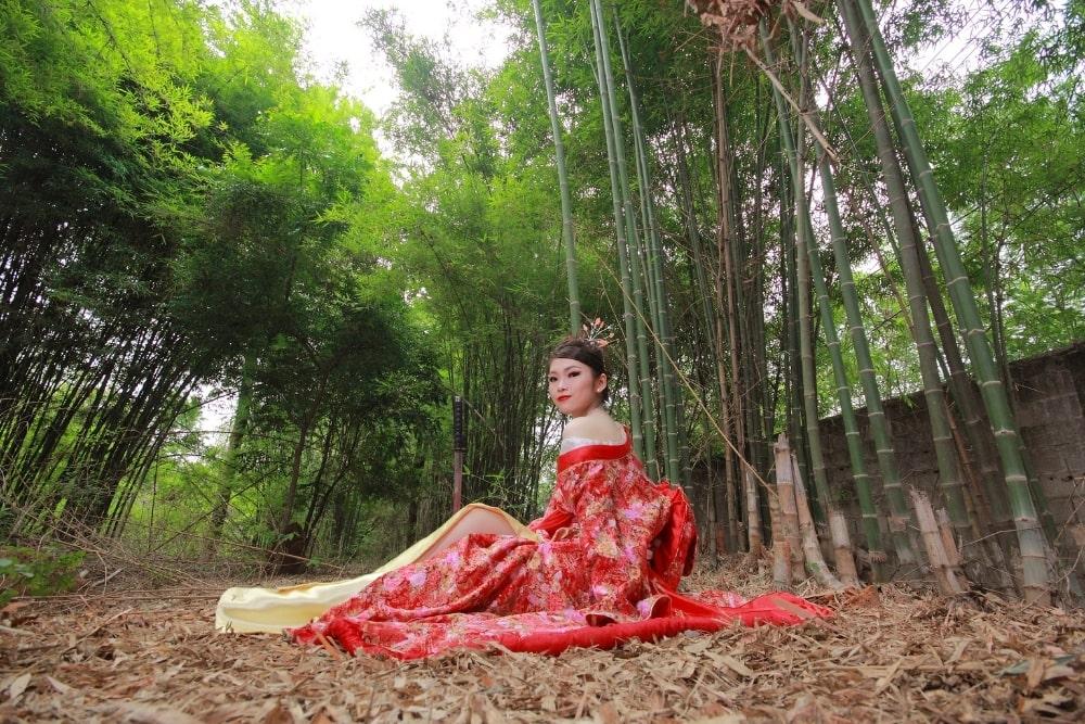 girl woman in a kimono11