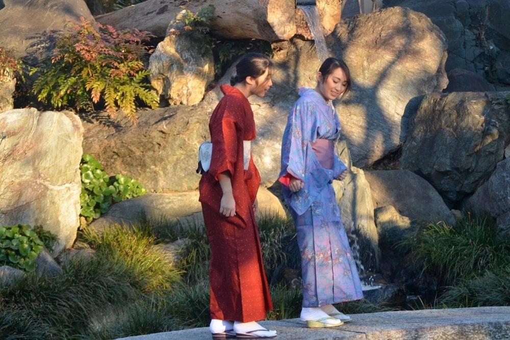 girl woman in a kimono15