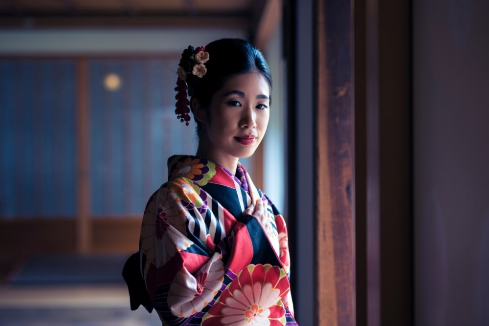 girl woman in a kimono16
