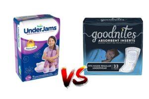 Underjams vs GoodNites