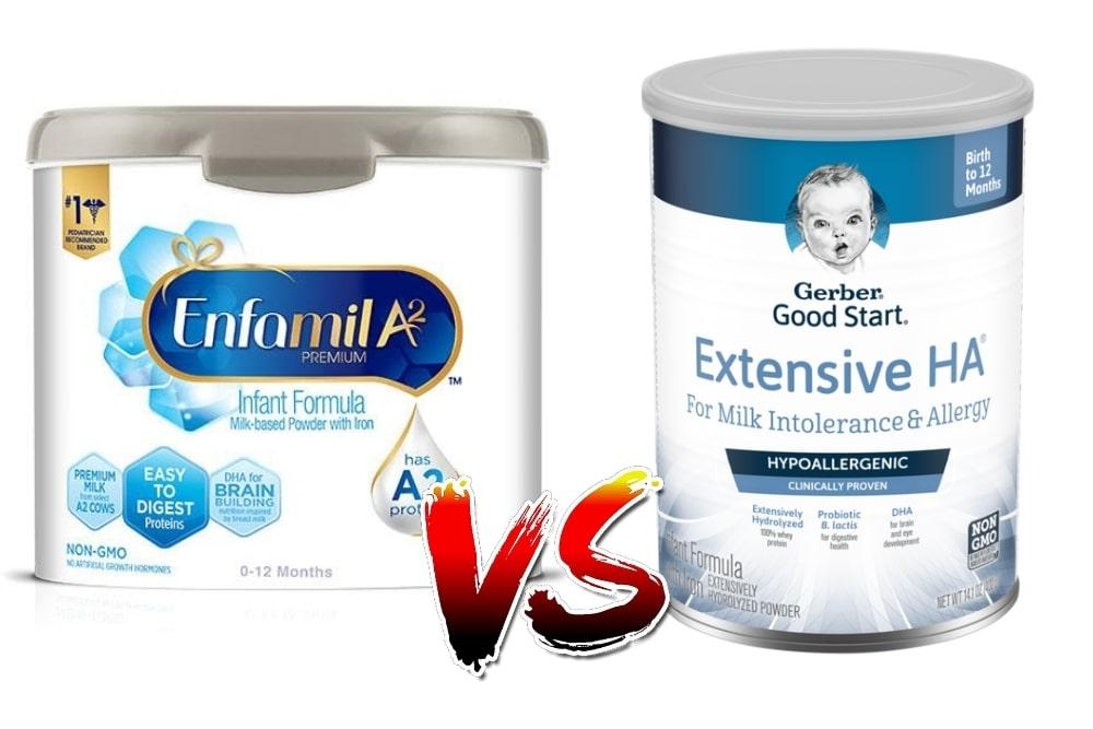 Enfamil vs Gerber in 2021 - Which Baby Formula Is Best?