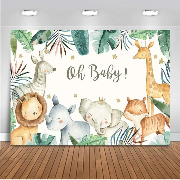 jungle baby shower
