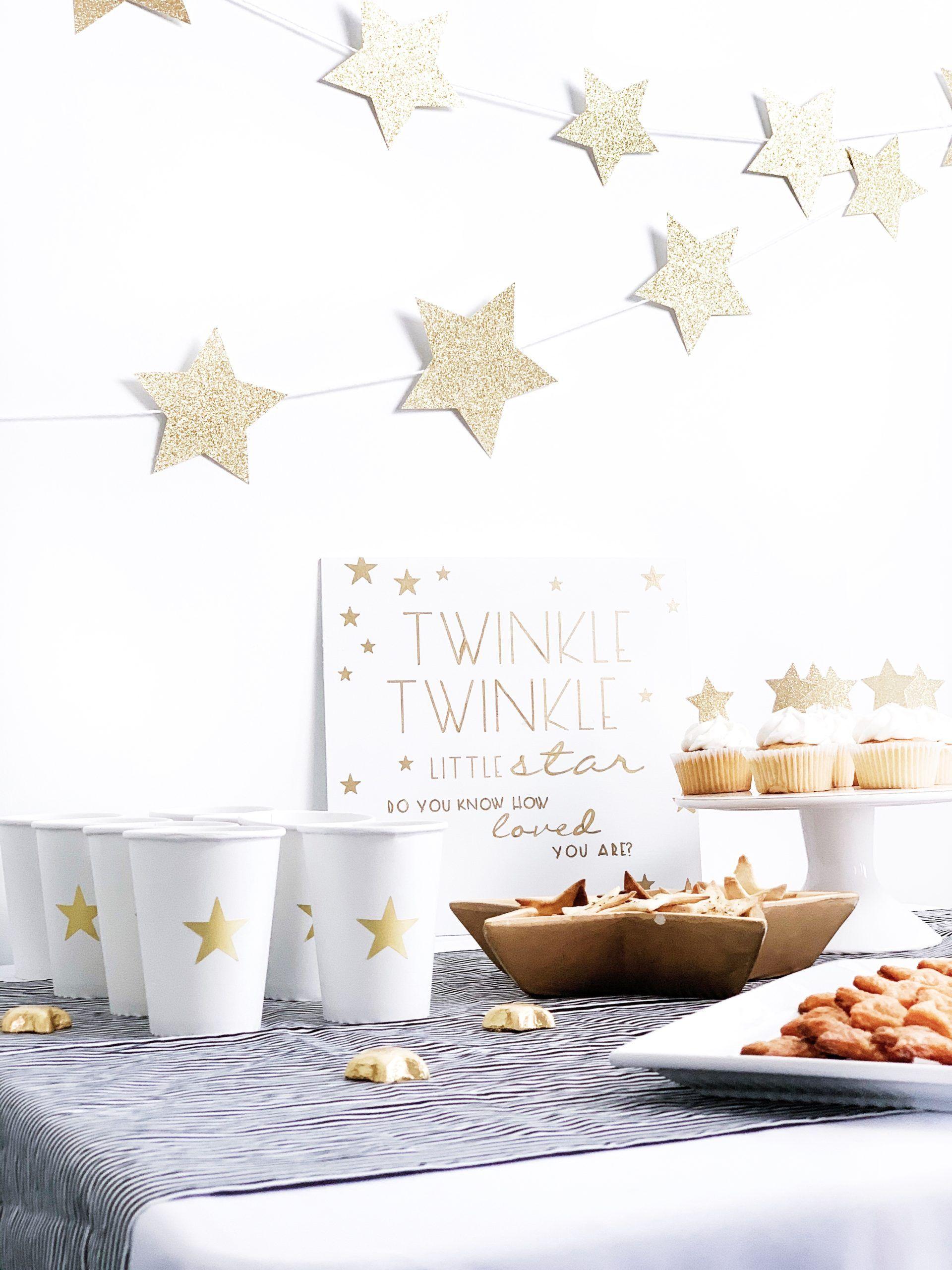 star buffet table