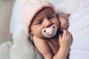 How To Keep Pacifier In Newborns Mouth