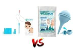 NoseFrida vs Bulb Syringe