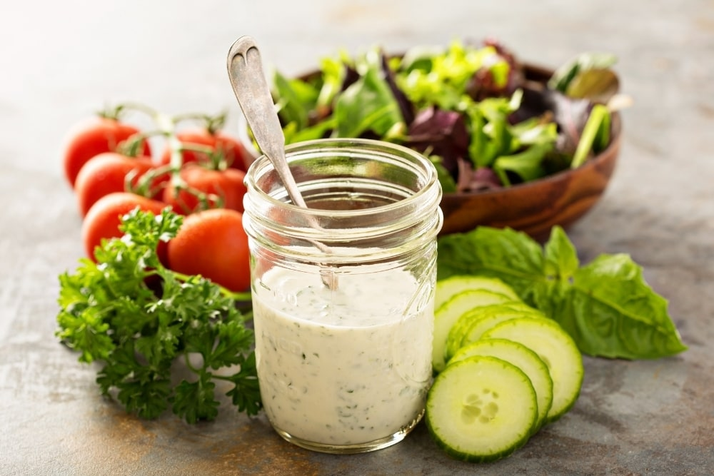 Can You Eat Ranch Or Caesar Salad Dressing While Pregnant?